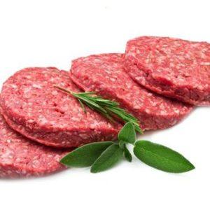beef burger patties free range